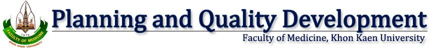 Planning and Quality Development, MD, KKU